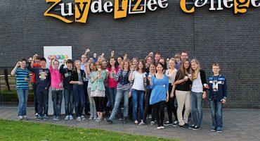Eerste prijs FilmIT voor leerlingen klas 2G Zuyderzee College