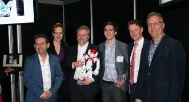 Zorgrobot wint Zorg Innovatie Start-up Award 2015