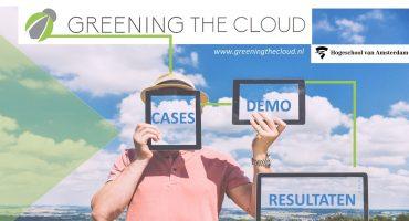 """Greening the Cloud Congres: """"De resultaten uit dit project vragen om vervolg"""""""