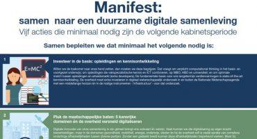 Belangenorganisaties vragen volgend kabinet om digitaal leiderschap