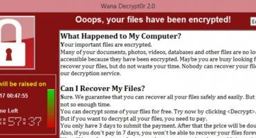 Nu was het WannaCry, volgende keer InTears?