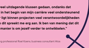 In gesprek met: young professional Roel Koens van Atos